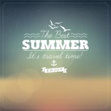 summer夏天气息光晕