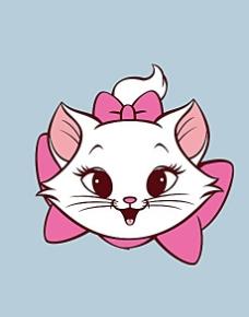 可爱猫咪矢量素材