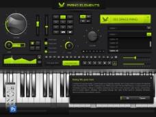 音乐播放器软件UI 界面设计 17