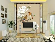 最新装饰设计元素家装背景墙壁纸