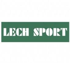 Lech Sport logo设计欣赏 Lech Sport下载标志设计欣赏