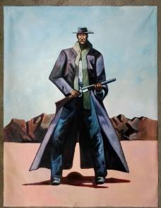 拿枪的男人图片