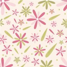无缝的花卉图案的背景