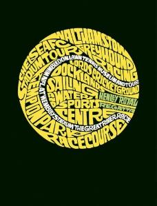 位图 色彩 文字 英文 黄色 免费素材