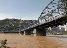 兰州黄河铁桥图片