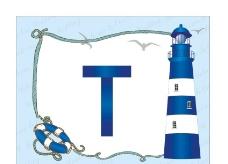 航海灯塔风景图片