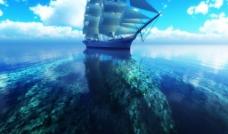 清澈的海洋图片