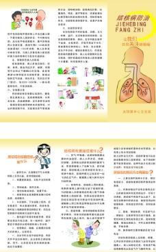 肺结核三折页图片