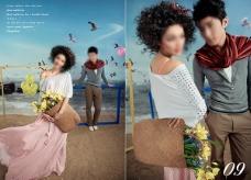 婚纱模版 海边的阿狄丽娜 9