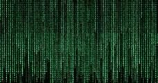 黑客帝国绿色数字图片