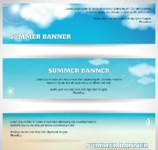 夏天条幅banner图片