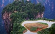 空中田园图片