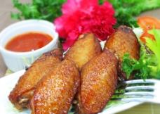 辣味鸡中翼图片
