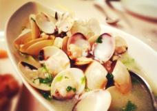 白酒煮花蛤图片