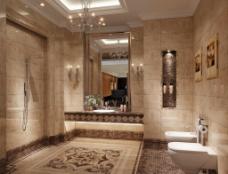 卫生间效果图图片
