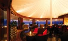 马尔代夫餐厅摄影图片