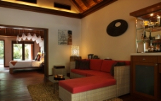 马尔代夫度假套房图片