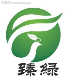 绿色标志图片