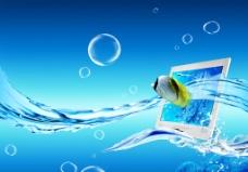 水中电视图片