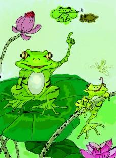 动物插画设计图片