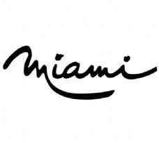 Miami logo设计欣赏 Miami下载标志设计欣赏