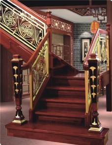 中式楼梯装