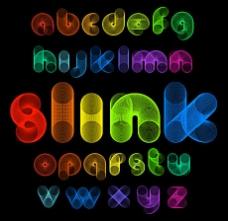 创意字母设计矢量素材