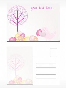 复活节卡片插画海报