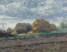 自然油画图片