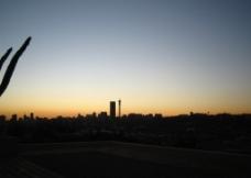 日落的约翰里斯堡图片