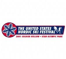 Nordic Ski Festival logo设计欣赏 Nordic Ski Festival下载标志设计欣赏