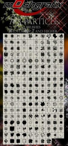 精品装饰元素类ps笔图片