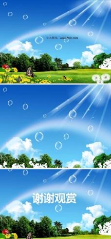 绿色环保大自然生态ppt图片素材