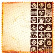 古典装饰品背景图片