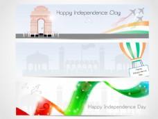 印度独立日的八月背景第十五