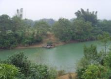 河边风光图片