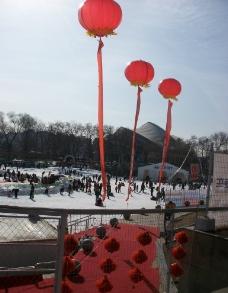 人工滑雪场图片