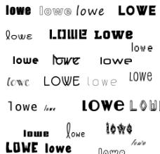 50多种漂亮的英文字