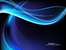 蓝色画册背景