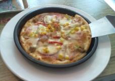 蔬菜披萨图片