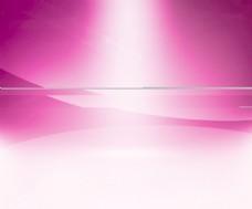 粉红辉光背景