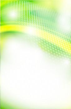 绿色背景矢量技术