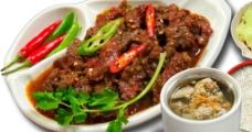香辣蒸牛肉饭图片