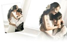 婚纱照相组图模板式样图片