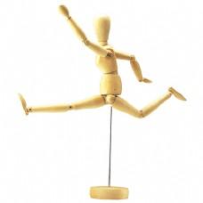 木偶的肢体动作-跑