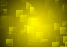 黄色立体背景