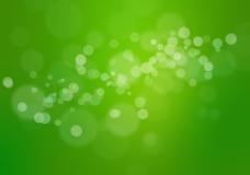 绿色气泡背景