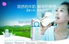 牛奶海报图片