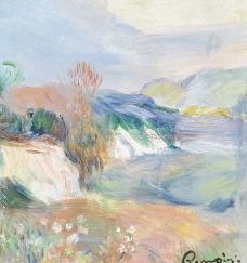 自然风光油画图片