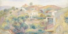 农村油画图片